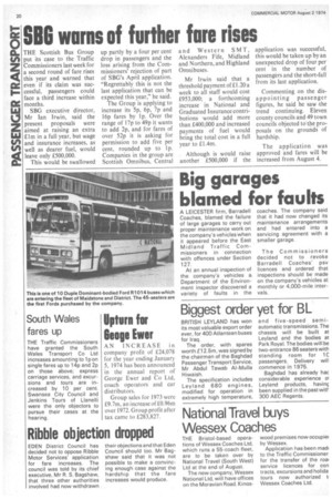 Biggest Order Yet For Bl 2nd August 1974 The Commercial Motor Archive